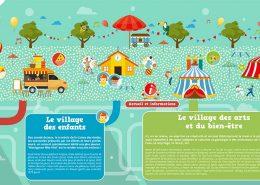 Les villages de la fête de l'été à Montgeron, juin 2016
