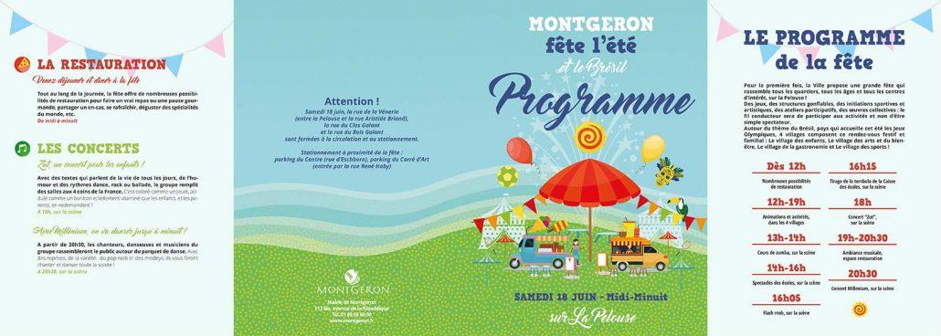 Programme de la Fête de l'été de Montgeron, le samedi 18 juin 2016